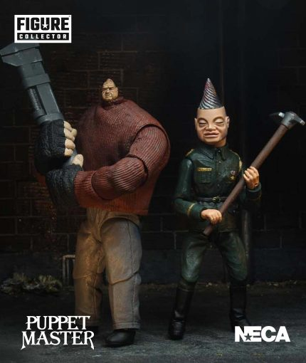 puppet master and pinhead action figures
